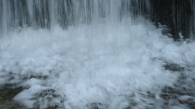 Base of the Waterfall of Spillway stock video