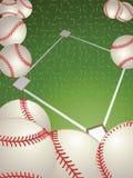 baseball stock illustrationer