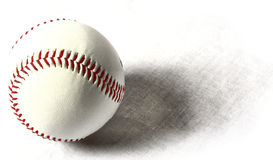 Baseball. Shot of baseball with shadow Stock Image