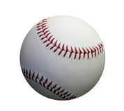 Baseball. This is a photo of a baseball  on white background Royalty Free Stock Image