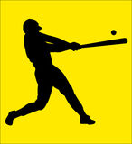 baseball 14 Royaltyfri Bild