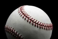 Baseball. Close up shot of baseball with space for copy Stock Photography