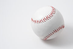 Baseball. A baseball on aneutral background Royalty Free Stock Photography