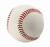 Baseball. Isolated on White Background Royalty Free Stock Photo