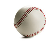 Baseball. Closeup of baseball isolated on white background Stock Photo