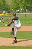 baseball 2 miotacz obraz stock