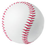 Baseball. Image of a Baseball in a white background Stock Image