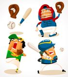Baseball. Sport Player. Detailed  illustration Stock Photos