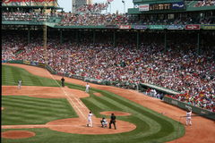 Baseball. A view of Fenway Park, Boston royalty free stock photos