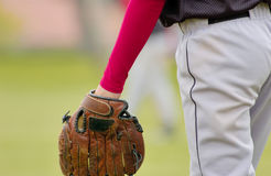 Baseball. Boy playing baseball Royalty Free Stock Images
