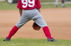Baseball. Boy playing baseball Stock Photography