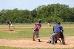 Baseball. Match Royalty Free Stock Images
