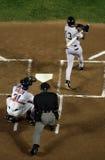 baseball achtergrond Stock Fotografie