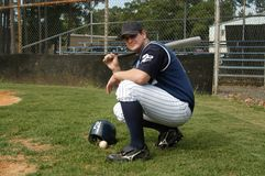 Baseball All The Way Stock Photo