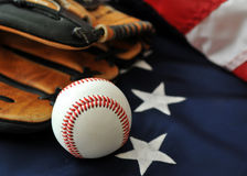 Baseball - American Passtime Royalty Free Stock Photography