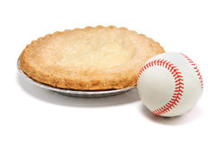 Baseball And Apple Pie Royalty Free Stock Photography