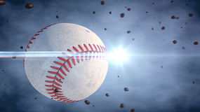Baseball And Ball Stock Photography