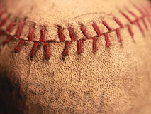 Baseball antico fotografia stock libera da diritti