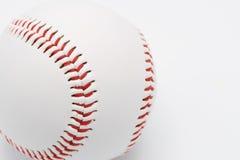 Baseball auf einem weißen Hintergrund Lizenzfreies Stockfoto