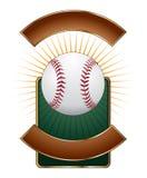Baseball-Auslegung-Schablonen-Impuls Lizenzfreie Stockfotos