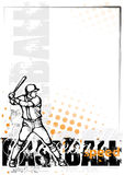 Baseball background Royalty Free Stock Photos