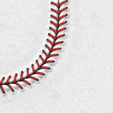 Baseball Background. Background with highly detailed texture of baseball Stock Photography