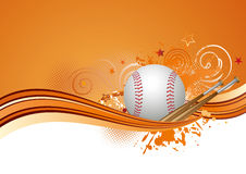 Baseball background Royalty Free Stock Images