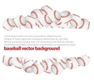 Baseball  background. Baseball balls.baseball  background Stock Photography