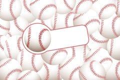 Baseball background Stock Images
