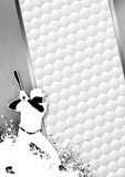 Baseball background stock illustration