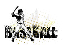 Baseball background 4 Stock Image