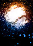 Baseball background. Abstract baseball sport invitation poster or flyer background with empty space Stock Images