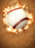 Baseball background. Abstract baseball sport invitation poster or flyer background with empty space Royalty Free Stock Image