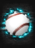 Baseball background Stock Images