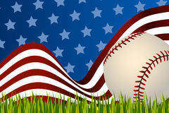 Baseball background ball Royalty Free Stock Image