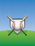 Baseball Background Illustration Royalty Free Stock Photography