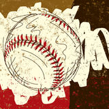 Baseball background Royalty Free Stock Photography