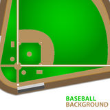 Baseball background Royalty Free Stock Image