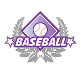 Baseball badge Stock Images