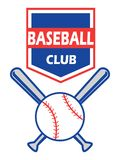 Baseball badge. Isolated the design of baseball badge on white background vector illustration