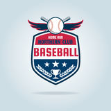 Baseball badge sport logo Stock Photography