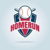 Baseball badge sport logo Stock Images