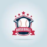 Baseball badge sport logo Royalty Free Stock Photography
