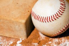 Baseball with Bag Royalty Free Stock Photography