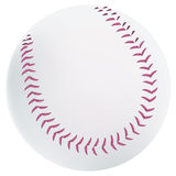 Baseball ball. Simple and realistic vector illustration of baseball ball Royalty Free Stock Photos