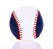 Baseball ball. Isolated on white background Royalty Free Stock Images
