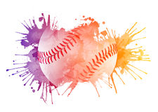Baseball ball Royalty Free Stock Images