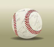 Baseball Ball 2. Vector Drawing Stock Illustration