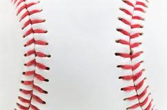 Baseball ball. Macro a photo of a light baseball ball Stock Images