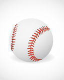 Baseball ball. 3d effect baseball ball abstract background Royalty Free Stock Image
